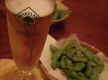 ビール→日本酒
