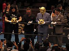 5000万円の黄金マスク公開