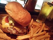 ハンバーガー久しぶりに食べた