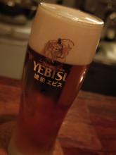 やっぱりビール!