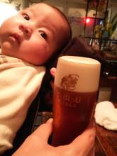 ビール飲むしかねェよ…