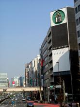 オシャレ街への入り口