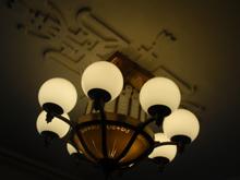 玄関ロビーの照明