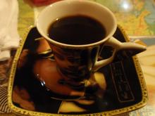 食後のコーヒィ