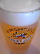 嬉し過ぎて昼ビール
